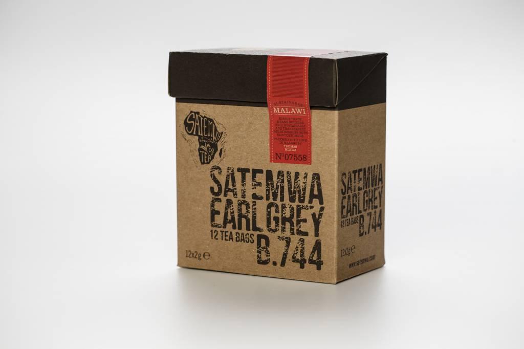 Satemwa B.744 Satemwa Earl Grey Theebuiltjes 12 x 2g