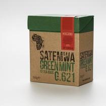 Satemwa W.715 Satemwa White Hibiscus Passion & Peach Theebuiltjes 12 x 2g
