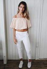 Rachel Moore Witte pantalon