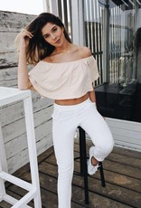 Rachel Moore White trousers