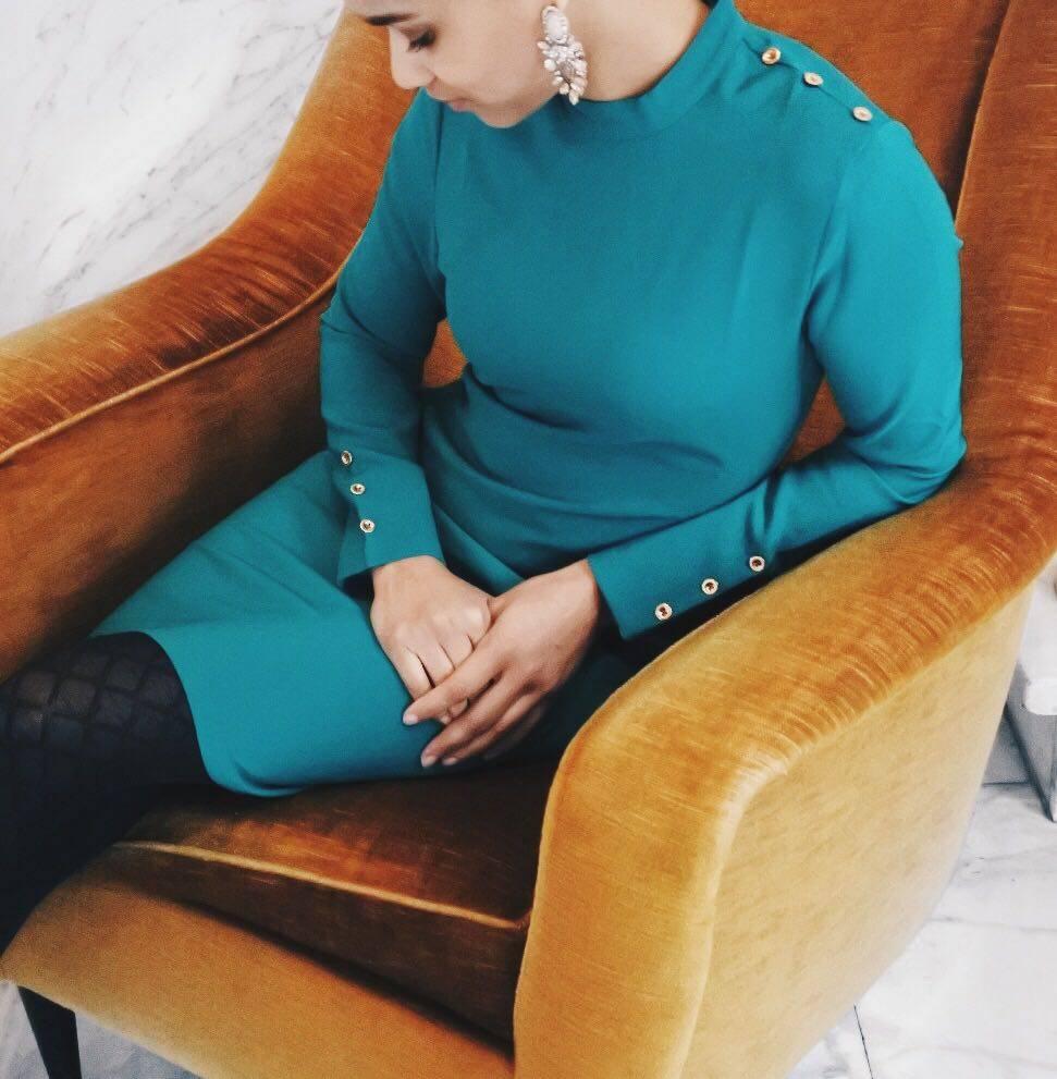 Rachel Moore Army dress