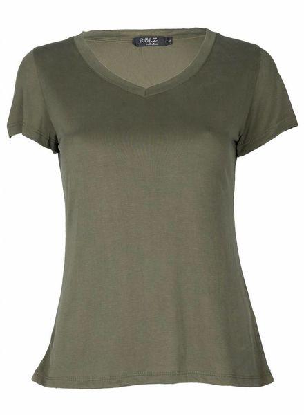 Gemma Ricceri Shirt Basic Blanca Army