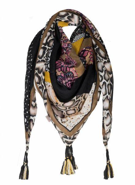 Sjaal Africa Bruin