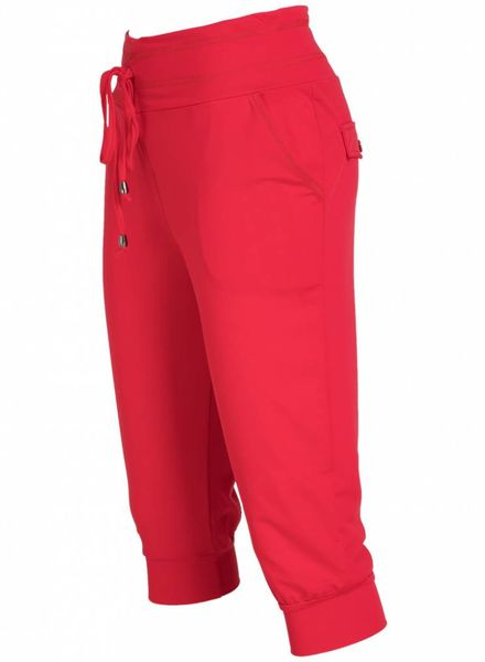 Vera Jo Capri travelstof rood