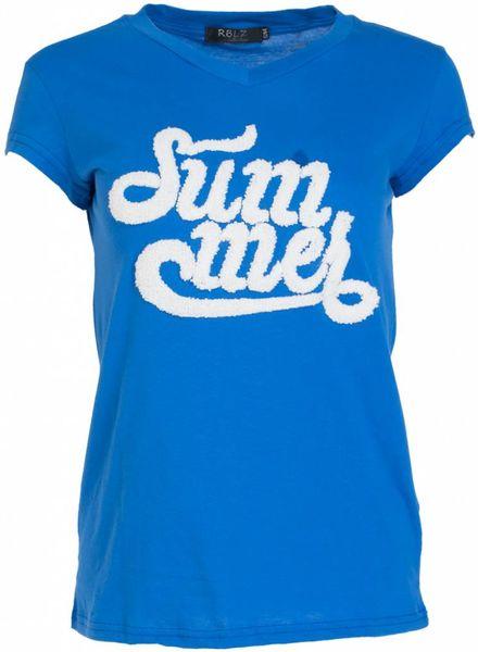 Rebelz Collection Shirt Summer kobalt