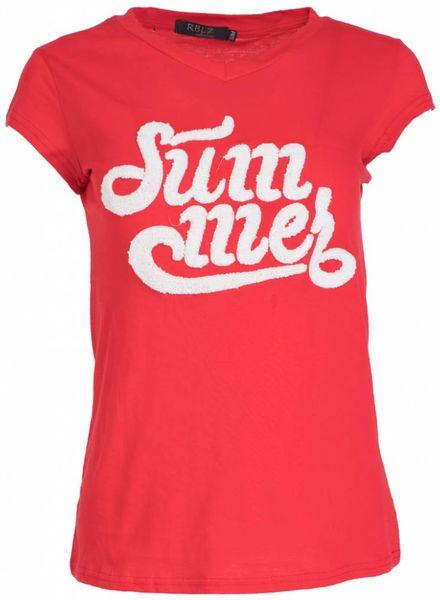 Rebelz Collection Shirt Summer rood