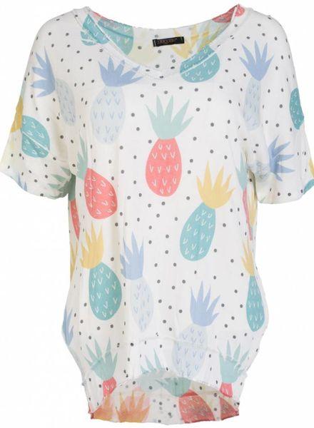 Gemma Ricceri shirt pine wit