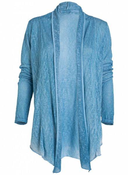 Gemma Ricceri vest summer blauw