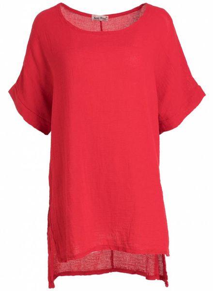Gemma Ricceri Shirt Mandy rood