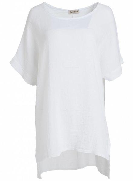 Gemma Ricceri Shirt Mandy wit