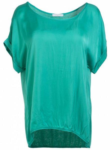 Gemma Ricceri Shirt silk touch gucci groen