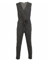 Jumpsuit panter groen