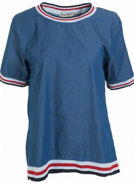 Shirt bella blauw