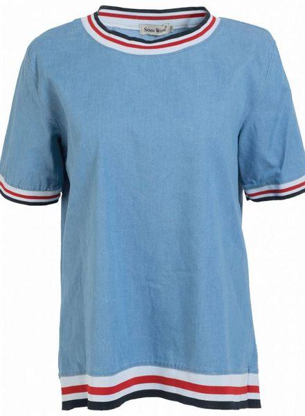 Shirt Bella lichtblauw