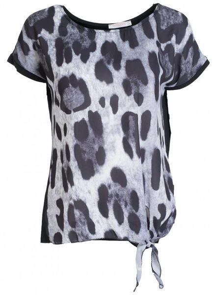 Shirt panter Vera zwart