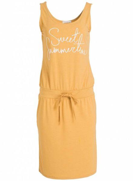 Gemma Ricceri Jurk Sweet summertime geel