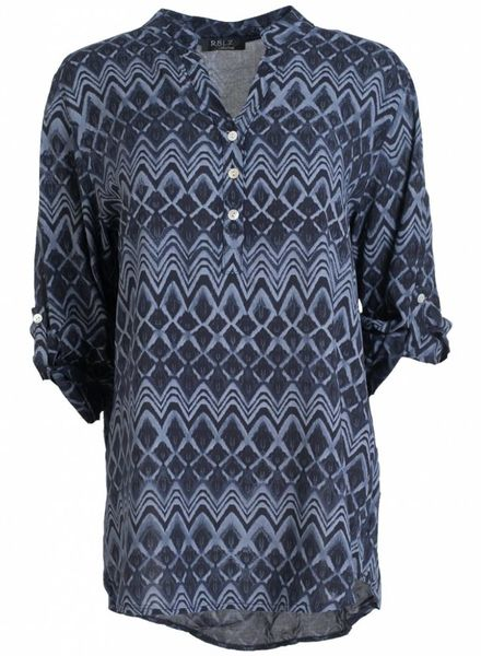 Rebelz Collection Blouse Mirte donkerblauw