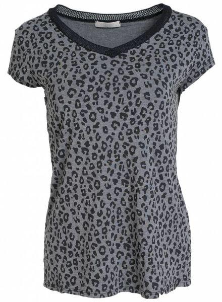 Gemma Ricceri Shirt panter Juul grijs