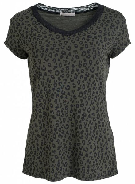 Gemma Ricceri Shirt panter Juul groen