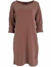 Rebelz Collection Sweaterdress Amber bruin