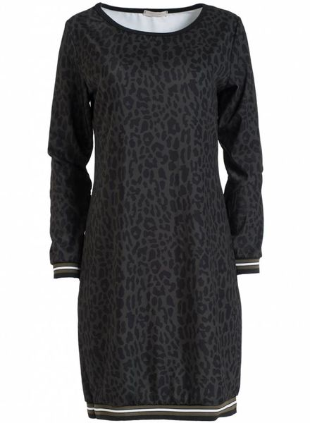 Gemma Ricceri Sweaterdress Luca groen