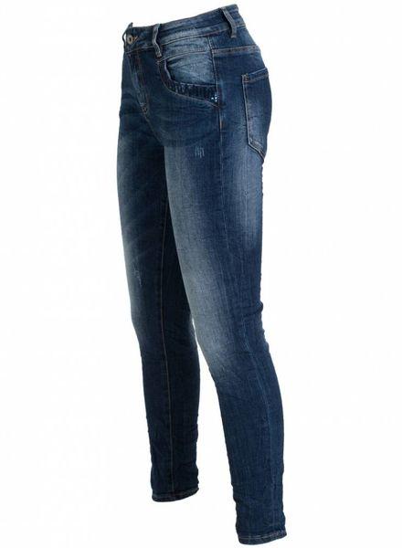 Gemma Ricceri Jog jeans Tracy donkerblauw