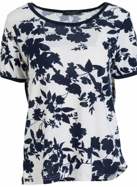 Rebelz Collection Shirt Odet wit/blauw