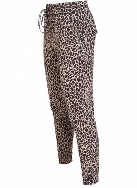 Rebelz Collection Broek travel Effie bruin/beige
