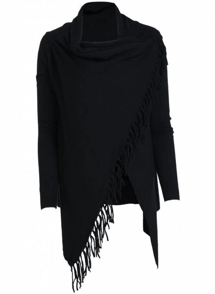 Rebelz Collection Vest Franje Kady zwart
