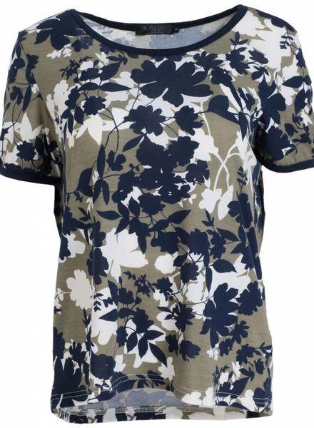 Rebelz Collection Shirt Odet Blauw/groen