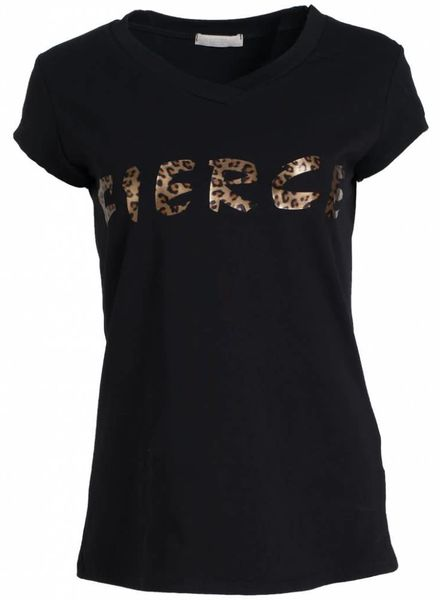 Gemma Ricceri Shirt Fierce zwart/bruin
