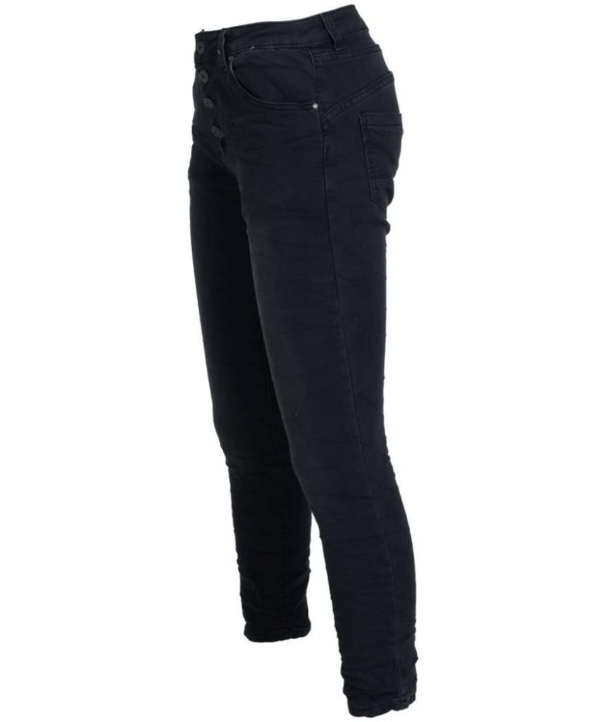 place du Jour Jog jeans Evi zwart