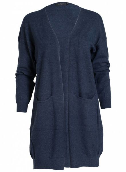 Rebelz Collection Vest Tine donkerblauw