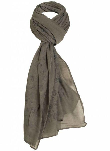 Sjaal Billie donkergroen
