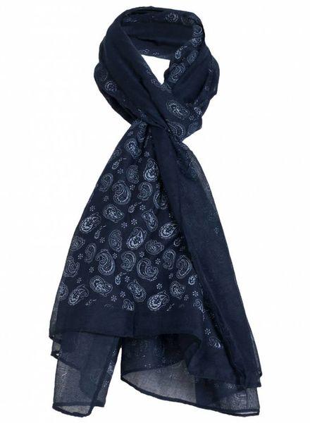 Sjaal Billie donkerblauw
