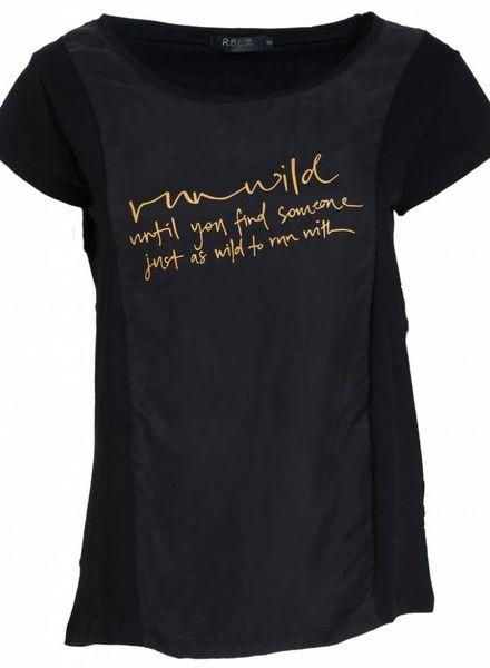 Rebelz Collection Shirt Wild zwart/okergeel