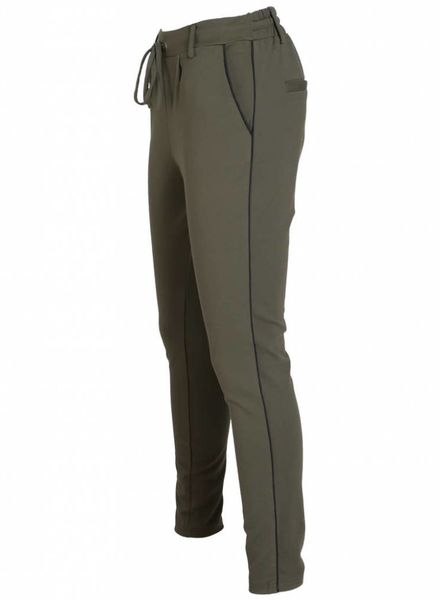 Rebelz Collection Pantalon Meggie groen/zwart