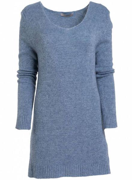 Gemma Ricceri Trui Abby jeansblauw