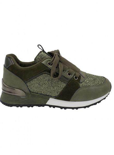 Sneaker spice groen