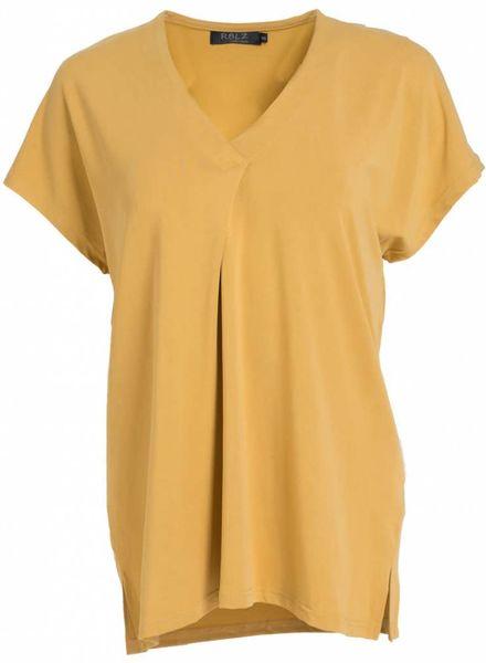 Rebelz Collection Shirt Rosie okergeel