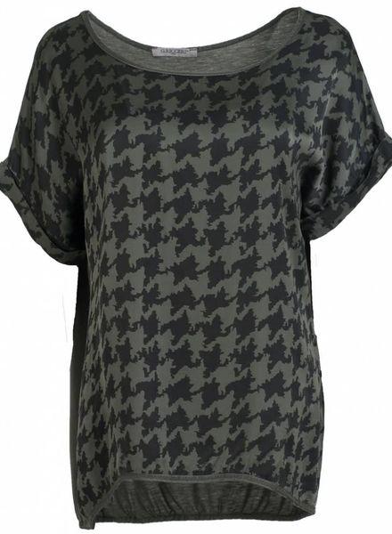 Gemma Ricceri Shirt silk touch Lexi groen