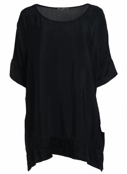 Gemma Ricceri Shirt big Indy zwart