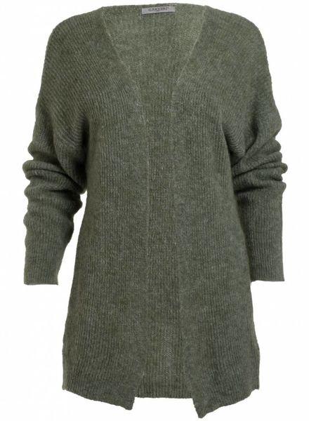Gemma Ricceri Vest Lana fluffy groen