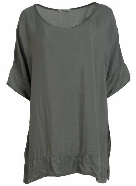 Gemma Ricceri Shirt big Indy groen