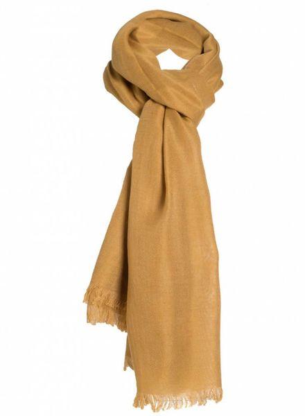 Sjaal Lot okergeel