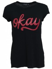 Rebelz Collection Shirt okay zwart/rood