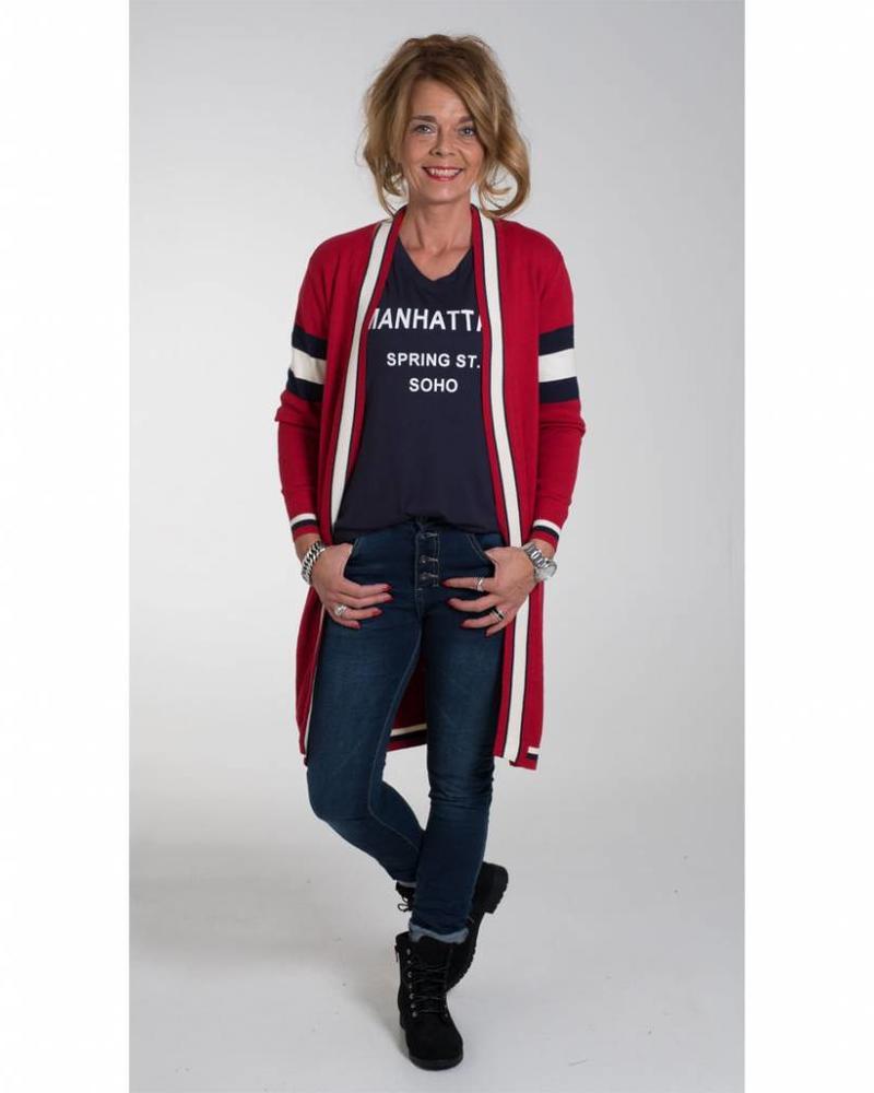 Gemma Ricceri Vest Jordan Rood/blauw