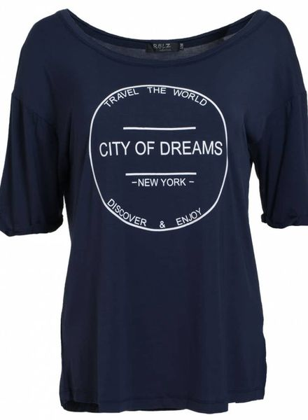Rebelz Collection Shirt city of dreams blauw