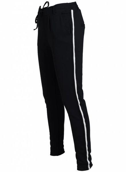 Rebelz Collection Pantalon Roxie zwart/ wit