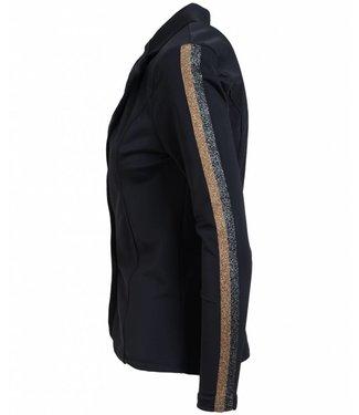 Vera Jo Blazer travel Zara bies zwart